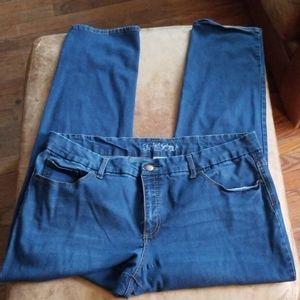 Faded Glory size 20w straight leg jeans